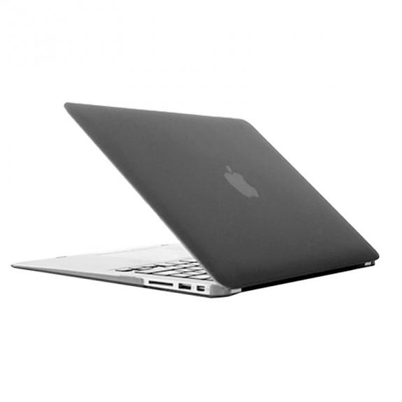 """Tvrzený ochranný plastový obal / kryt pro Macbook Air 13"""" - šedý"""