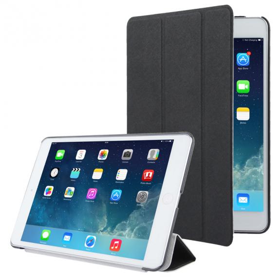 AppleKing ochranné smart pouzdro pro Apple iPad Mini 1 / 2 / 3 - černé - možnost vrátit zboží ZDARMA do 30ti dní