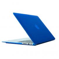 """Tvrzený ochranný plastový obal / kryt pro Macbook Air 13.3"""" - modrý"""
