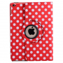 Pouzdro / kryt s otočným stojánkem pro Apple iPad Air 2 - červené