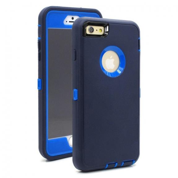 AppleKing super odolné / prachuvzdorné pouzdro pro Apple iPhone 6 / 6S - tmavě modré - možnost vrátit zboží ZDARMA do 30ti dní