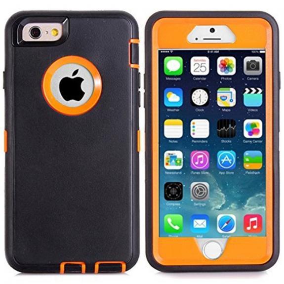 AppleKing super odolné / prachuvzdorné pouzdro pro Apple iPhone 6 / 6S - černé - možnost vrátit zboží ZDARMA do 30ti dní