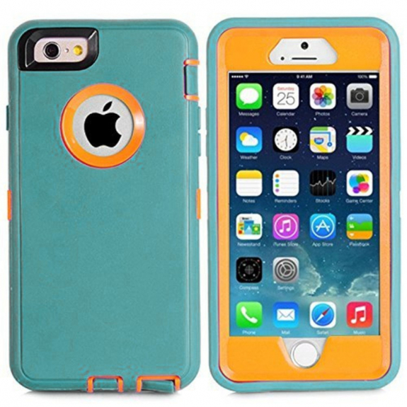 AppleKing super odolné / prachuvzdorné pouzdro pro Apple iPhone 6 / 6S - tyrkysové - možnost vrátit zboží ZDARMA do 30ti dní