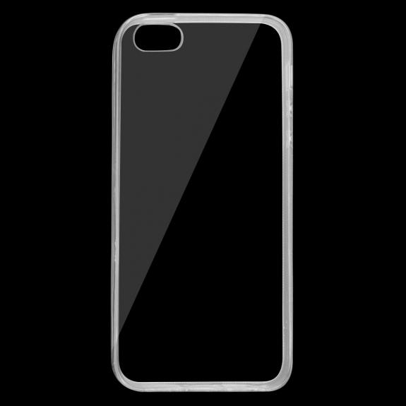 AppleKing transparentní kryt z měkkého plastu pro Apple iPhone 5 / 5S / SE - možnost vrátit zboží ZDARMA do 30ti dní