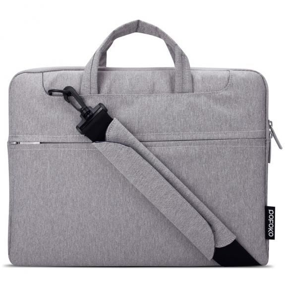 """POFOKO brašna pro Apple MacBook 13"""" / MacBook Pro 13"""" - šedá - možnost vrátit zboží ZDARMA do 30ti dní"""
