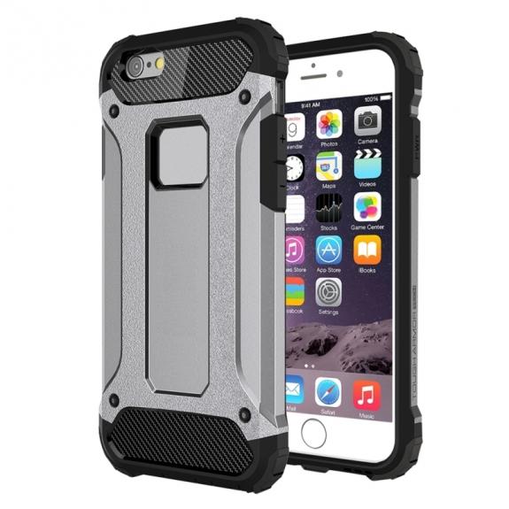 """AppleKing super odolný """"Armor"""" kryt pro Apple iPhone 6 / 6S - šedý - možnost vrátit zboží ZDARMA do 30ti dní"""