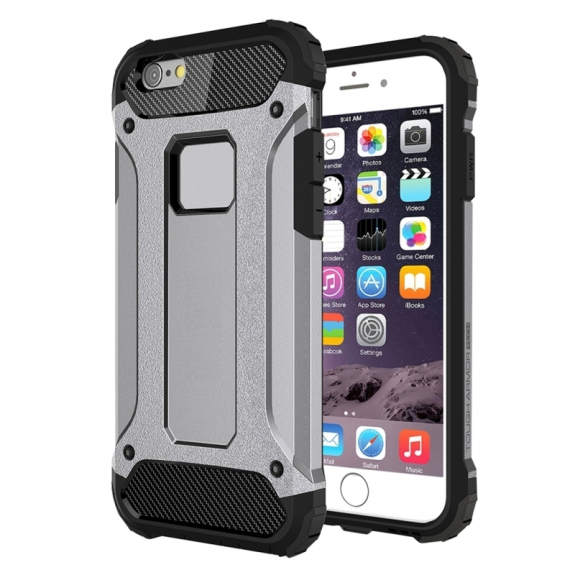 "Super odolný ""Armor"" kryt pro Apple iPhone 6 / 6S - šedý"