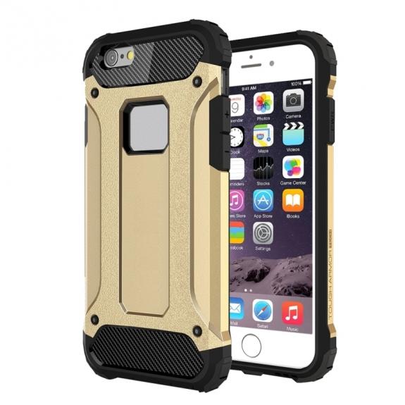 """AppleKing super odolný """"Armor"""" kryt pro Apple iPhone 6 / 6S - zlatý - možnost vrátit zboží ZDARMA do 30ti dní"""