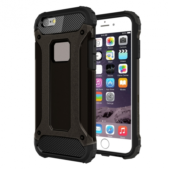 """Super odolný """"Armor"""" kryt na Apple iPhone 6 Plus / 6S Plus - černý"""