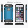"Super odolný ""Armor"" kryt na Apple iPhone 6 Plus / 6S Plus - modrý"