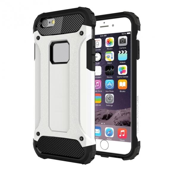 "Super odolný ""Armor"" kryt na Apple iPhone 6 Plus / 6S Plus - bílý"