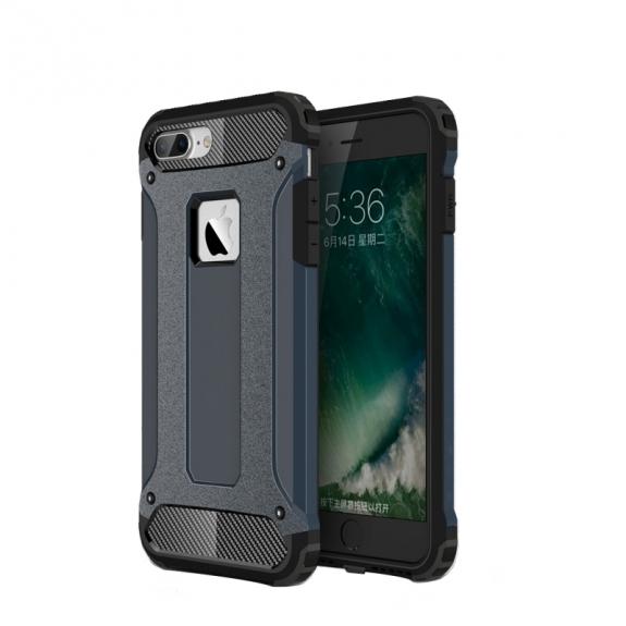 """Super odolný """"Armor"""" kryt na Apple iPhone 8 Plus / 7 Plus - tmavě modrý"""