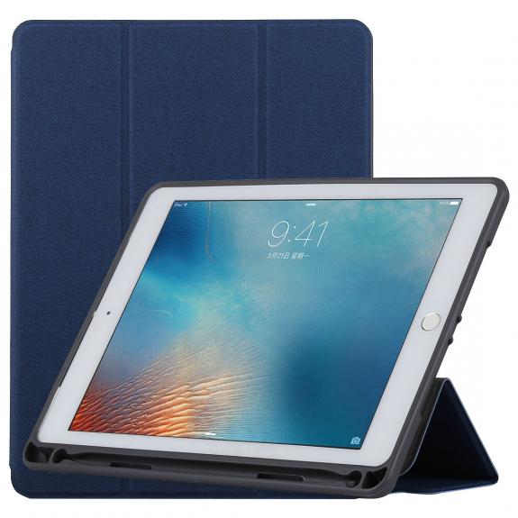 """TOTUDESIGN ochranné pouzdro pro Apple iPad Pro 9.7"""" / iPad Air 2 s prostorem pro Apple Pencil - tmavě modré - možnost vrátit zboží ZDARMA do 30ti dní"""
