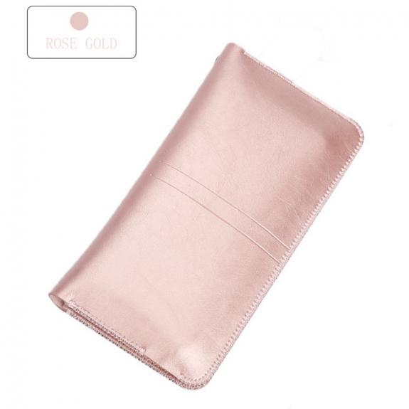 AppleKing sOYAN univerzální kapsa s prostorem na doklady pro Apple iPhone - růžovo-zlatá - možnost vrátit zboží ZDARMA do 30ti dní