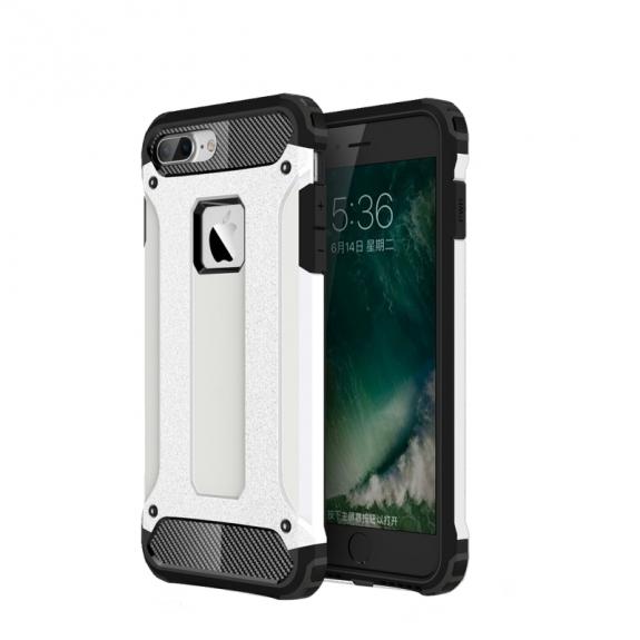 "AppleKing super odolný ""Armor"" kryt na Apple iPhone 7 Plus - bílý - možnost vrátit zboží ZDARMA do 30ti dní"