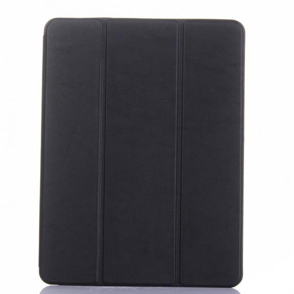 """AppleKing ochranné pouzdro pro Apple iPad 9.7"""" (2017 / 2018) / iPad Pro 9.7"""" / iPad Air / iPad Air 2 s prostorem pro Apple Pencil - černé - možnost vrátit zboží ZDARMA do 30ti dní"""