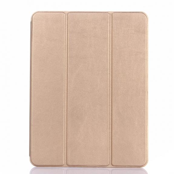 """AppleKing ochranné pouzdro pro Apple iPad 9.7"""" (2017 / 2018) / iPad Pro 9.7"""" / iPad Air / iPad Air 2 s prostorem pro Apple Pencil - zlaté - možnost vrátit zboží ZDARMA do 30ti dní"""