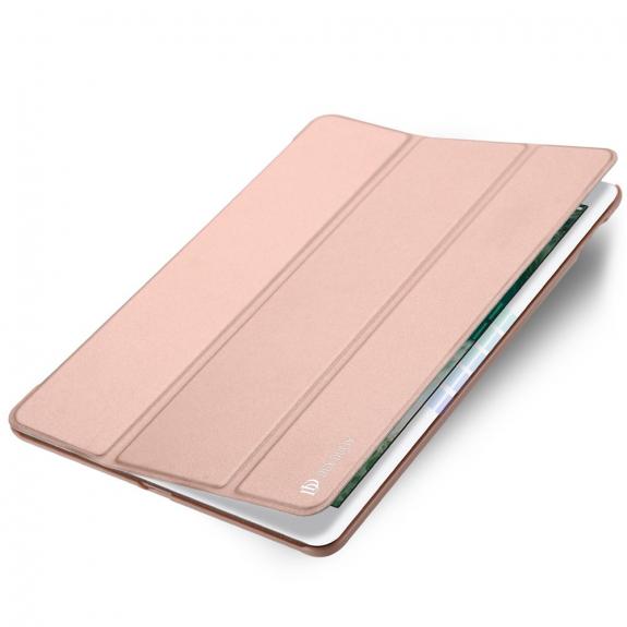 """AppleKing dUX DUCIS pouzdro s funkcí uspání a stojánkem pro Apple iPad Pro 9.7"""" / iPad Air 2 - růžovozlaté - možnost vrátit zboží ZDARMA do 30ti dní"""