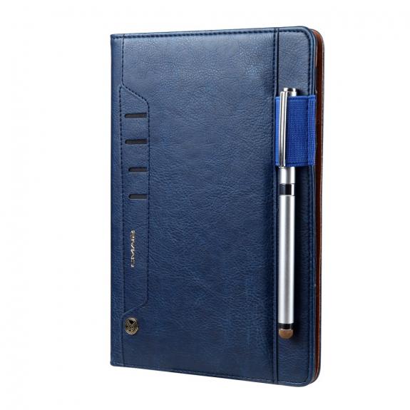 AppleKing luxusní pouzdro z umělé kůže pro Apple iPad Mini 4 - tmavě modré - možnost vrátit zboží ZDARMA do 30ti dní