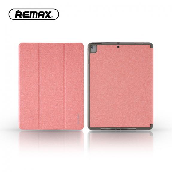 """AppleKing rEMAX ochranné pouzdro s prostorem pro Apple Pencil pro Apple iPad 9.7"""" (2017 / 2018) / iPad Air - růžové - možnost vrátit zboží ZDARMA do 30ti dní"""