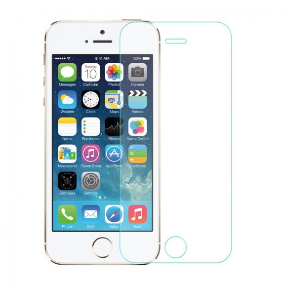 AppleKing ochranné tvrzené sklo pro Apple iPhone 5 / 5S / 5C / SE - možnost vrátit zboží ZDARMA do 30ti dní