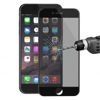 HAT PRINCE temperované 3D sklo s ochranou soukromí pro Apple iPhone 6 Plus / 6S Plus - černé