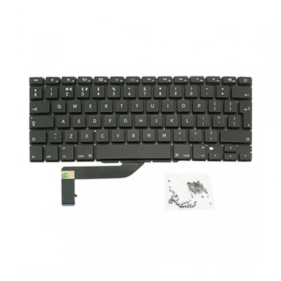 """AppleKing klávesnice pro Apple MacBook Pro 15"""" A1398 (rok 2013, 2014) - UK verze - možnost vrátit zboží ZDARMA do 30ti dní"""