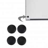 Náhradní spodní gumové nohy pro Apple Macbook Air (A1370, 1369, 1466, 1465) - 4ks - černé