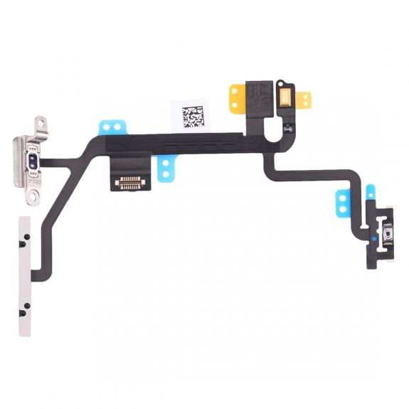 AppleKing flex kabel s přepínačem Mute + ovládání hlasitosti + Power spínač pro Apple iPhone 8 - možnost vrátit zboží ZDARMA do 30ti dní