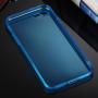 Ultratenký 0.5mm tmavý silikonový kryt pro Apple iPhone 8 / 7 - modrý