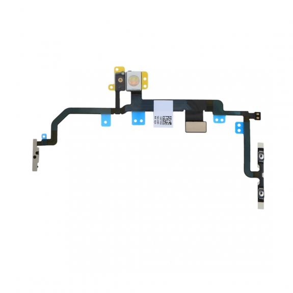 AppleKing flex kabel s přepínačem Mute + ovládání hlasitosti + Power spínač pro Apple iPhone 8 Plus - možnost vrátit zboží ZDARMA do 30ti dní