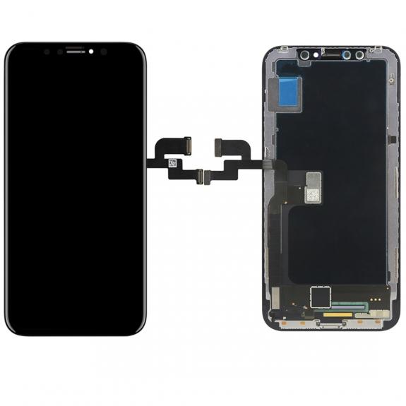 AppleKing refurbished Original náhradní OLED displej s dotykovým sklem a rámečkem pro Apple iPhone X - možnost vrátit zboží ZDARMA do 30ti dní