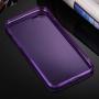 Ultratenký 0.5mm tmavý silikonový kryt pro Apple iPhone 8 / 7 - fialový