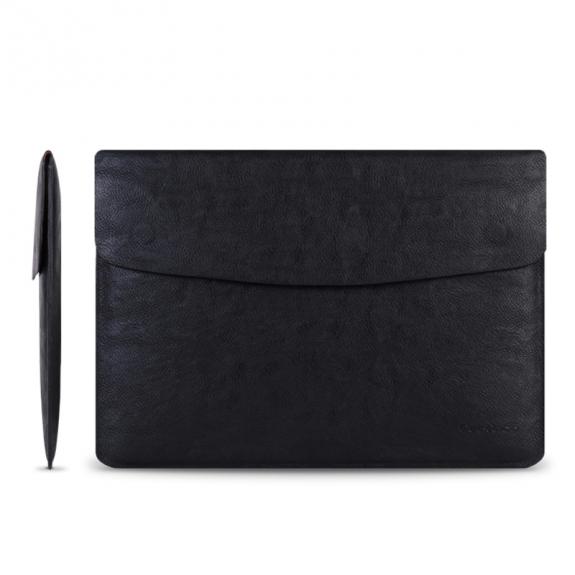 """Cartinoe stylová obálka pro MacBook Pro 13"""" / Air 13"""" - černá - možnost vrátit zboží ZDARMA do 30ti dní"""
