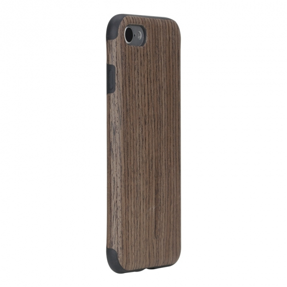ROCK ochranný kryt pro Apple iPhone 8 / 7 - černá růže a imitace dřeva - možnost vrátit zboží ZDARMA do 30ti dní