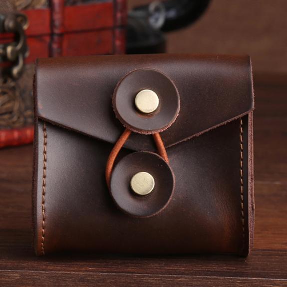 AppleKing kapsička z umělé kůže na kabely / sluchátka - možnost vrátit zboží ZDARMA do 30ti dní