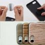 Ochranný kryt pro Apple iPhone 8 / 7 - černá růže a imitace dřeva