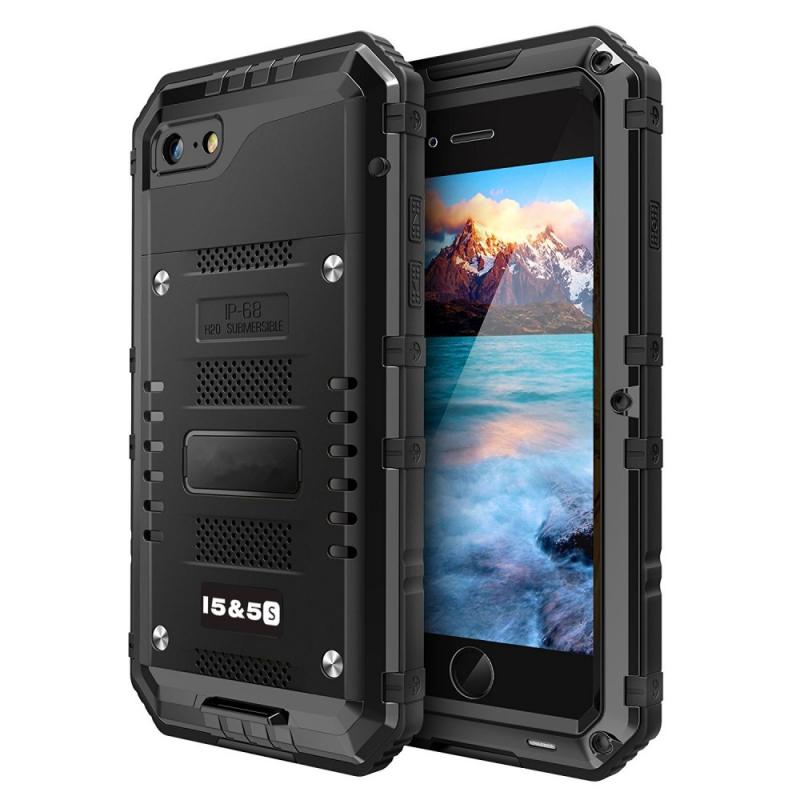 Vysoce odolné pouzdro pro iPhone SE   5   5S - černé - AppleKing.cz e7072e5d752