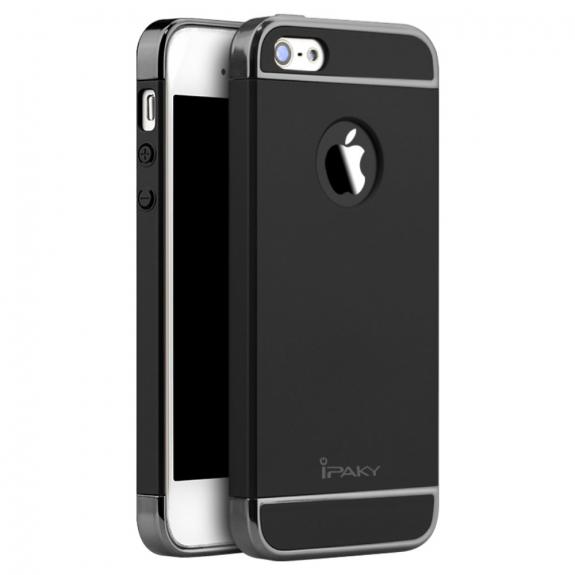 AppleKing iPAKY elegantní kryt pro iPhone 5   5S   SE - černý - možnost  vrátit 7478c6bd82d