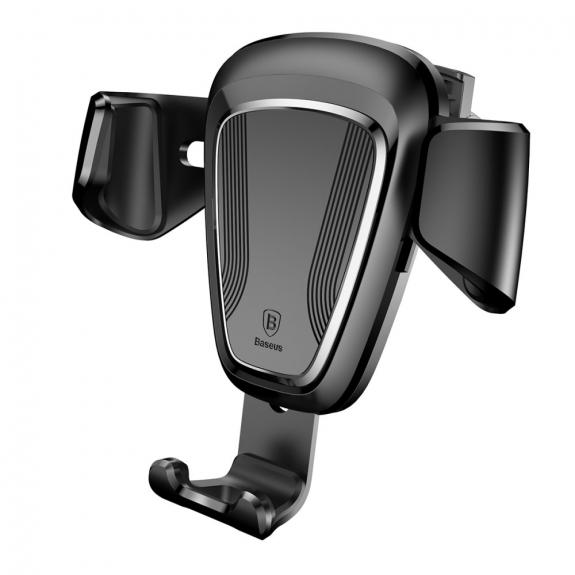 AppleKing bASEUS gravitační držák do auta pro iPhone - černý - možnost vrátit zboží ZDARMA do 30ti dní
