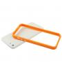 Ochranný plastový rámeček / bumper pro iPhone 5 / 5S / SE - oranžový