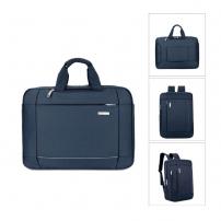 Luxusní brašna / batoh pro Macbook (43 x 32 x 10cm) - tmavě modrá
