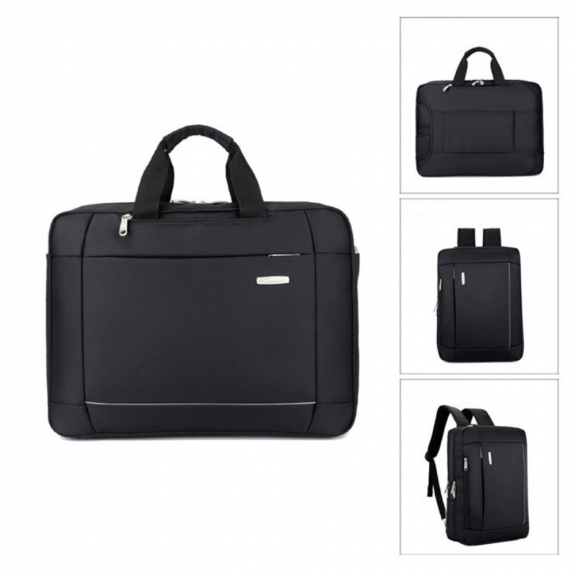 AppleKing luxusní brašna / batoh pro Macbook (43 x 32 x 10cm) - černá - možnost vrátit zboží ZDARMA do 30ti dní
