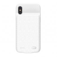 BASEUS kryt s baterií 3500mAh pro iPhone X - bílý