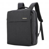 Multifunkční batoh s externím USB a jack portem - černý