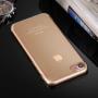 Ultratenký 0.5mm světlý silikonový kryt pro Apple iPhone 8 / 7 - zlatý