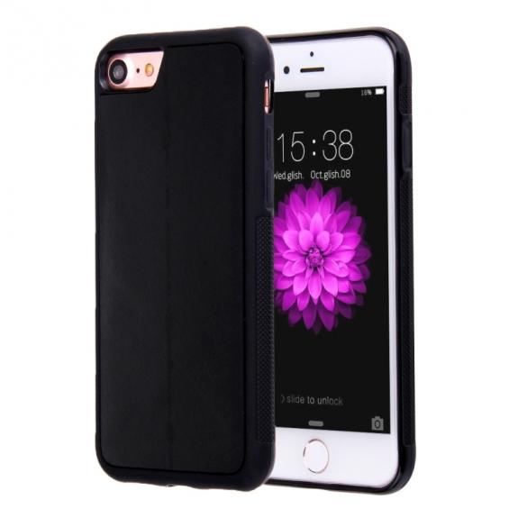 AppleKing antigravitační samolepící kryt pro Apple iPhone 7 - černý - možnost vrátit zboží ZDARMA do 30ti dní