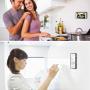 Antigravitační samolepící kryt pro Apple iPhone 8 / 7 - černý