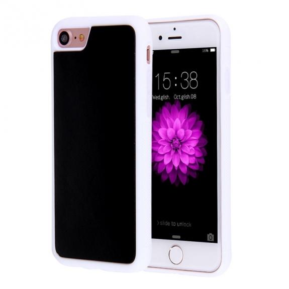 AppleKing antigravitační samolepící kryt pro Apple iPhone 7 - bílý - možnost vrátit zboží ZDARMA do 30ti dní