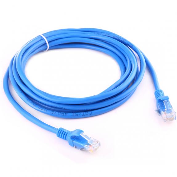 AppleKing ethernet RJ45 kabel pro MacBook - 3m - modrý - možnost vrátit zboží ZDARMA do 30ti dní